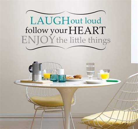 dining room wall quotes grey dining room wall decor with quote wall decals