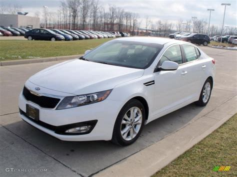 Kia White Car Picker White Kia Optima