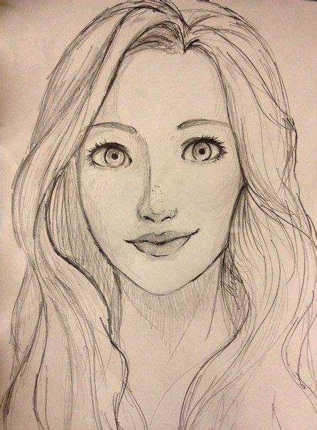 25 best ideas about face sketch on pinterest drawing