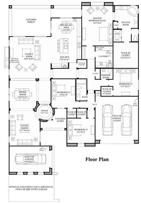 arizona floor plans toll brothers at blackstone the santiago az home design