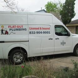 Plumbing In Houston Tx by Flat Out Plumbing Services 55 Photos 27 Reviews