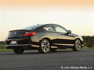 2017 honda accord coupe v 6 ex l review the sound of
