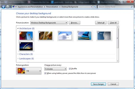 make your own wallpaper for windows 7 make your pc your own with the windows 7 personalization