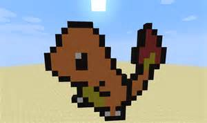 pokemon pixel arts family