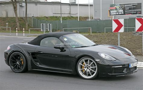 porsche spyder 2018 2018 porsche 718 boxster gts makes spyshot debut to be a