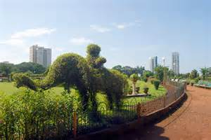 image of hanging gardens mumbai my india