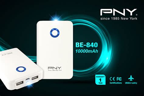 Pny Power Bank Be 840 10 000mah T3010 6 pny releases the be 840 high capacity power bank techporn