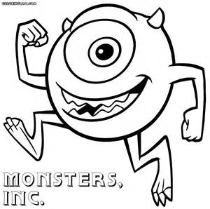 monsters coloring pages coloring pages download print