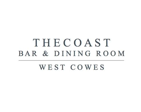 The Coast Bar And Dining Room by The Coast Bar And Dining Room Book Restaurants