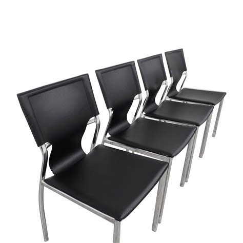 Inmod Chair by 66 Inmod Inmod Vinnie Leather Side Chairs Chairs