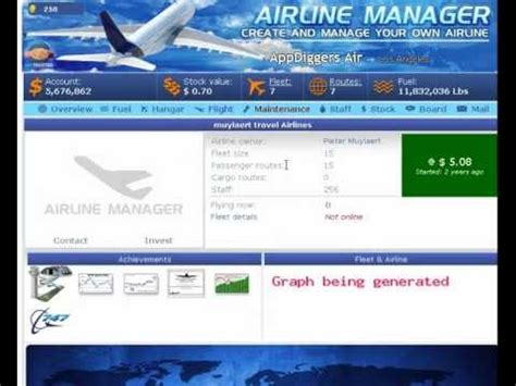 how to make money in airline manager