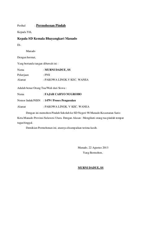 contoh surat izin resmi tidak mengikuti kegiatan simak