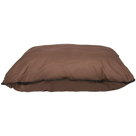 big shrimpy dog bed big shrimpy basic dog bed medium in dark brown