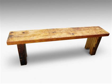 reclaimed pine bench reclaimed white pine five foot bench olde good things