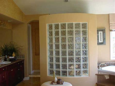 glass block wall bathroom glass block shower wall
