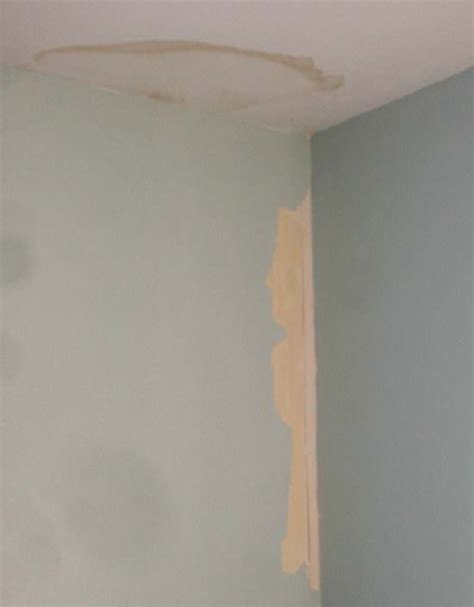 How To Hide Water Stains On Ceiling how to cover up water stains on the ceiling plus a new