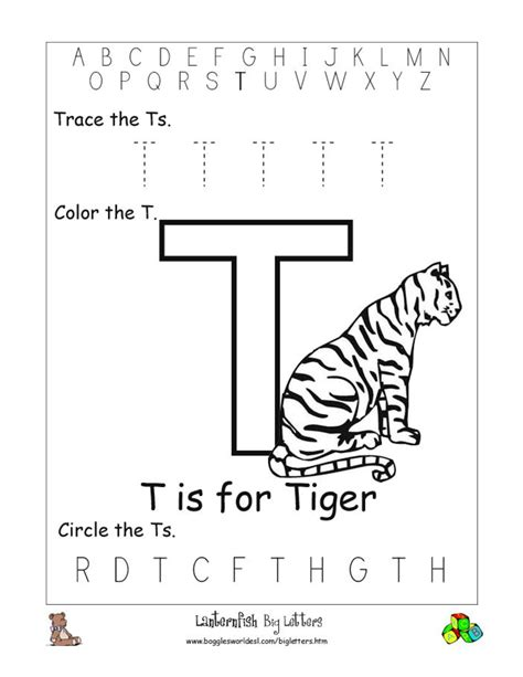 Letter T Worksheet Kindergarten by 6 Best Images Of Letter T Worksheets Printable Printable