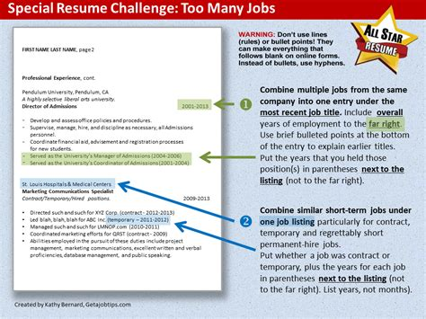 how to explain term employment on a resume resume