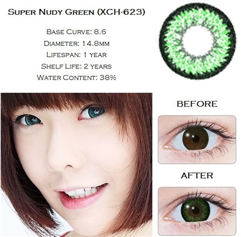 Geo Green 148mm Softlens jual softlens geo nudy 14 5mm free ongkir