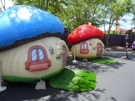 Smurf House by Real Smurf Houses That Actually Exist