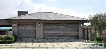 Modern Garage Designs modern barn wood garage doors home decorating trends