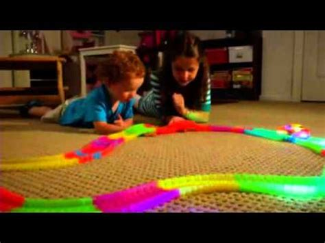 light up race track mindscope twister tracks 255 as seen on tv youtube
