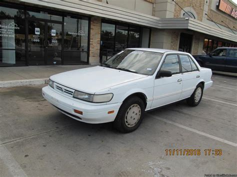 1990 nissan stanza cars for sale