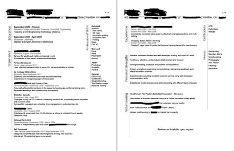 resume for co op student sle resume for co op student resume ideas