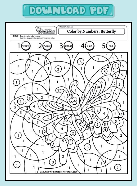 color by number butterfly coloring pages free coloring pages of addition butterfly