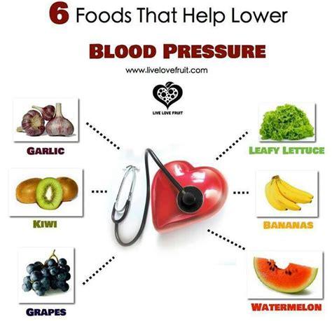 6 foods that help lower blood pressure home remedies