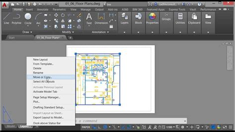 create layout in autocad model layouts in autocad 2016 youtube