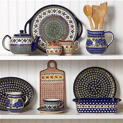 decorating with pottery 1000 images about polish pottery on pinterest