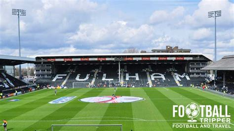 craven cottage seating plan craven cottage stadium guide fulham f c football tripper