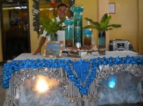 Buffet Table Skirting Designs Table Skirting Jblcf Bacolod Done By Christian
