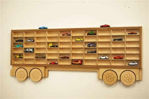 toy car truck shelf model car shelving unit