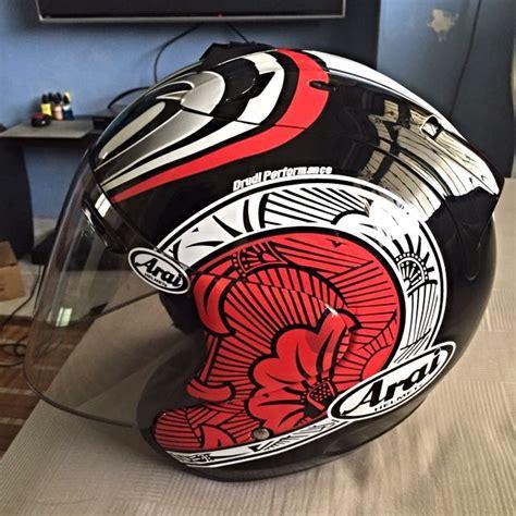 Helmet Arai Nakano arai nakano helmet semi convert arai cars on carousell