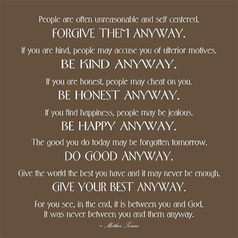 Teresa Quotes Teresa Quotes Wall Decor Quotesgram