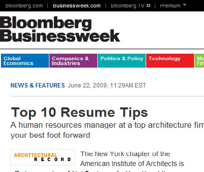 cover letter for bloomberg top 10 resume tips bloomberg businessweek