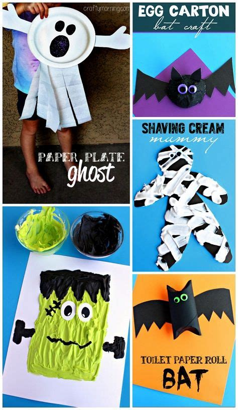 Creative Halloween Crafts - creative halloween crafts for kids to make
