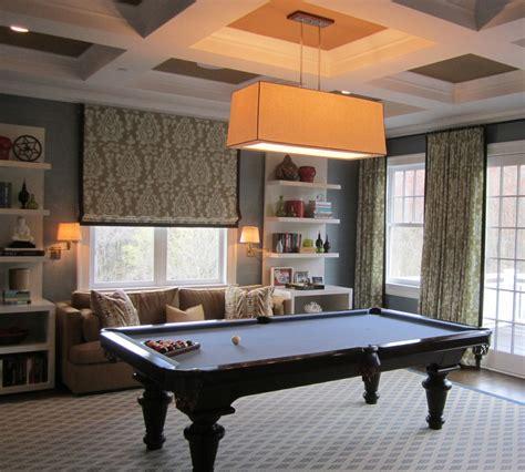 sofa pool table pool table room basement modern with cabinet