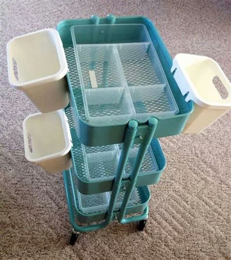 ikea raskog cart organization storage cart i love and trips on pinterest