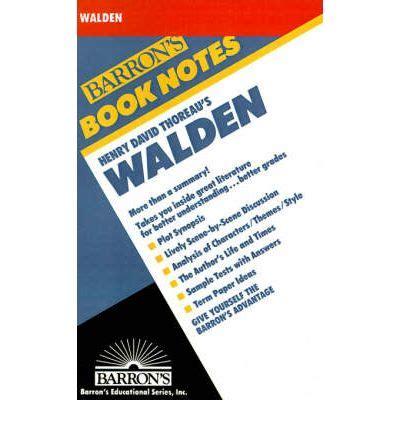 walden book sparknotes henry david thoreau s walden corrente 9780764191305