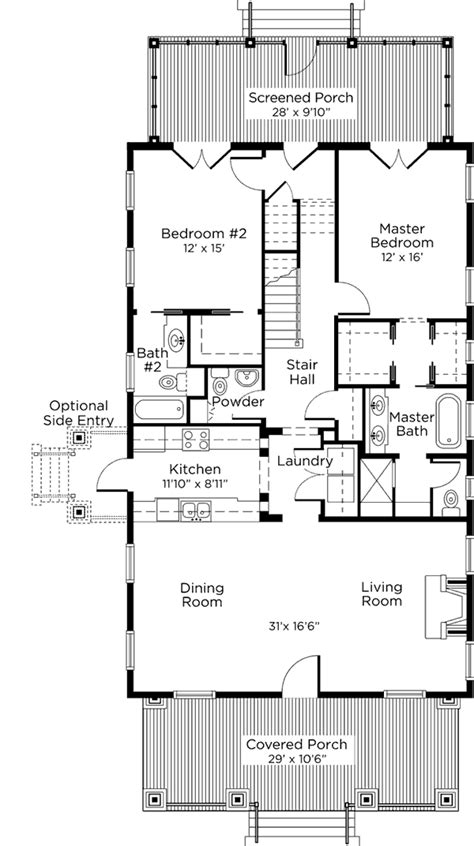 southern cottage floor plans newfield cottage cottage living southern living house