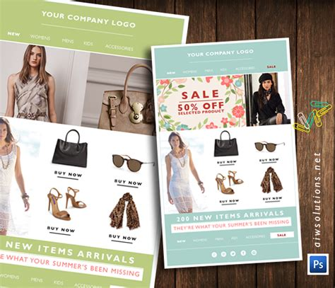 e blast templates free fashion design template