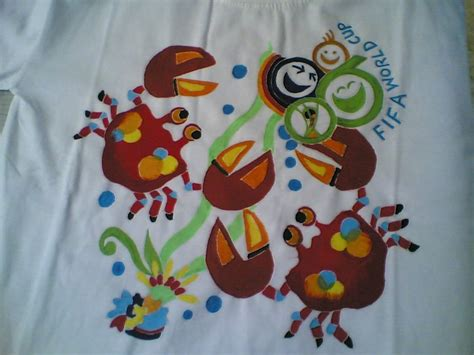 Kaos Fifa World Cup Original batik kontemporer jogja kaos