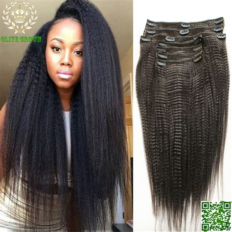 clip in human hair extensions light yaki clip in human hair extensions