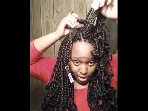 how to braid in prebraided hair beautiful crochet braids install pre braided and curled