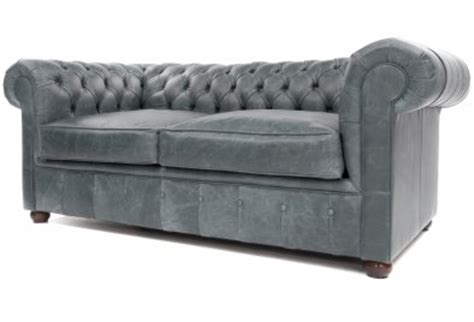 Ludlow Compact Chesterfield Sofa The Chesterfield Company Gray Leather Chesterfield Sofa Sofa View Gray Leather Chesterfield Artistic Color Decor Thesofa