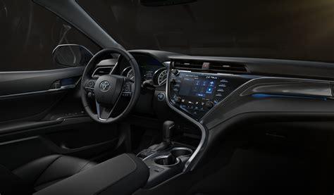 interior camry 2018 toyota adding navigation to all 2018 camry sedans