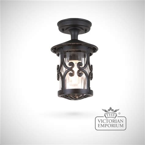 Lantern Ceiling Light Fixtures Hereford Rigid Lantern Exterior Ceiling Lights
